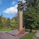 Памятник Е. Зеленко