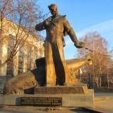 Памятник погибшим на АПЛ Курск
