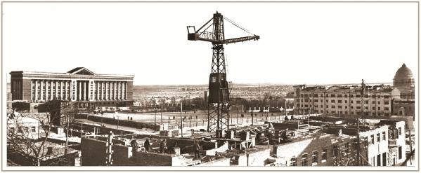 Красная площадь. 50-е годы