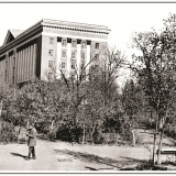 Памятник Сталину в Первомайском парке, 50-е годы