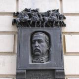 Мемориальная доска композитора Александра Порфирьевича Бородина.