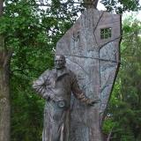 Памятник писателю Константину Воробьеву.