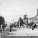Московская улица. От улиц Первышевской (ныне - Уфимцева) и Чистой (ныне - Кирова) в сторону Красной площади.