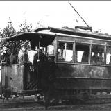 Курский трамвай на маршруте.1902 г.