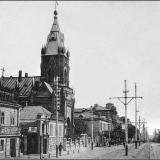 Московская улица. Квартал между Можаевской и Первышевской (ныне - Уфимцева).
