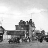 """Городской вокзал """"Курск-2"""". Вид вдоль Генеральной улицы"""
