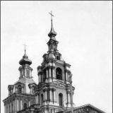 Кафедральный Сергиево-Казанский собор. С угла Можаевской улицы