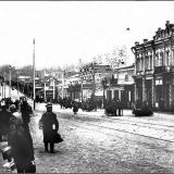 Херсонская улица. Правая сторона квартала от Сосновской до Луговой (в районе центрального рынка)