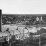 Электрическая станция. Вид от Городского сада с обрыва