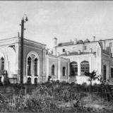 Моква. Дом отдыха окрстрахкассы. Дворец Нелидовых-Волковых. Восточный фасад, в сторону пруда