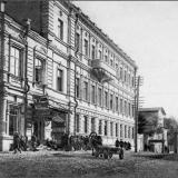 Биржа труда (бывш. ул Бебеля 2, нынешняя - ул. С Саровского. Разрушено в годы войны)