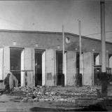 Окончание строительства Северного депо (1930 год).