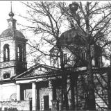 Георгиевская церковь. Начало 1930-х гг. Построена в середине 18-го века. Снесена в 1936 г. Находилась на нынешней ул. Дзержинско