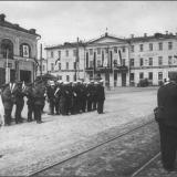 Красная площадь перед началом торжества. 1930-е гг.