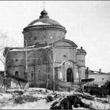 Воскресенский храм Знаменского монастыря во время оккупации