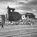 Курский цирк, располагался на Красной площади (Главпочтамт), был уничтожен при первых же бомбардировках в 1941 г.