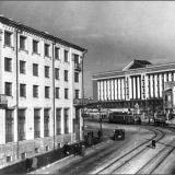 Красная площадь. Дом советов. 1950-е годы
