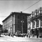 Улица Дзержинского. Кинотеатр им. Щепкина. 1960 год