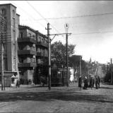 Улица Троцкого (Дзержинского) в сторону Красной площади. 1931 г.