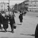 Курск во время оккупации. Красная площадь.