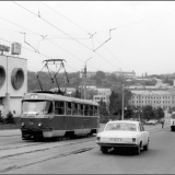Улица Дзержинского. 1991 г.