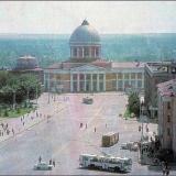 """Красная площадь, кинотеатр """"Октябрь"""". 1986 г."""