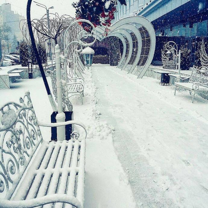 Немножко зимы всем