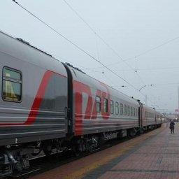 В Курск из столицы впервые приехал поезд с библиотекой и душевыми кабинами