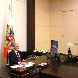 Курские школьники пообщались с президентом