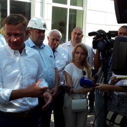 Губернатор Курской области посетил Железногорск с рабочим визитом