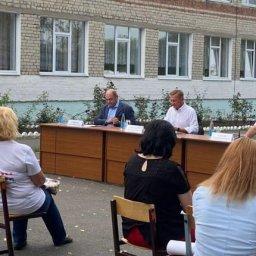 Роман Старовойт в очередной раз встретился с жителями Кукуевки