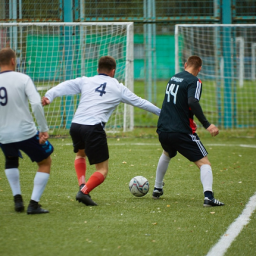В Курской области прошёл первый футбольный матч за Кубок губернатора