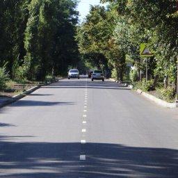 В Курской области завершается ремонт еще одной «Улицы Победы»