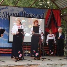 В Курском районе состоялась акция «А Победа на всех одна»