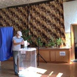 В Щигоровском районе Курской области наблюдается одна из самых высоких явок избирателей