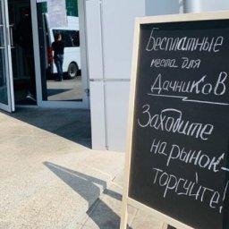 Курским дачникам предложили бесплатно торговать на фермерском рынке