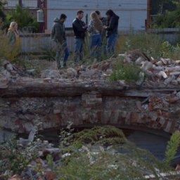 Московские диггеры исследуют старинные подвалы в Курске