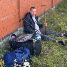 В Курске помогли мужчине, ночевавшему под забором противотуберкулезного диспансера